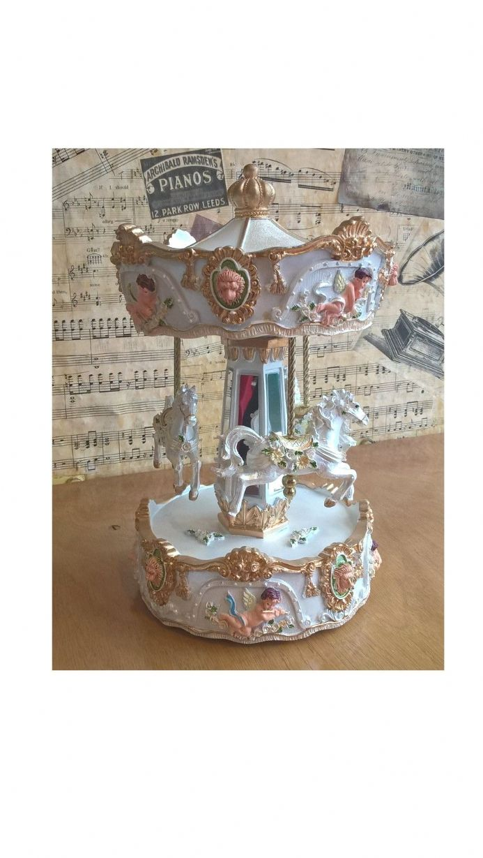 Lion Head Musical Carousel 14237